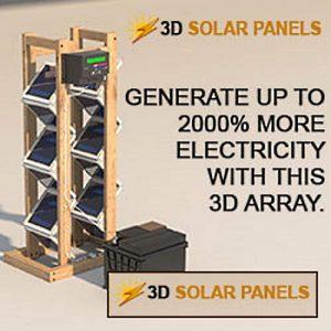 DIY 3D Solar Panels