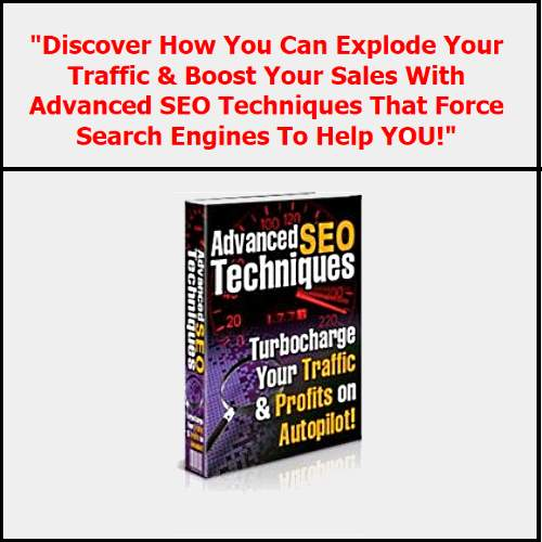 Advanced SEO Techniques
