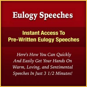 Eulogy Speeches