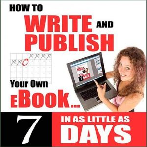 Write and Publish Your Own Ebook