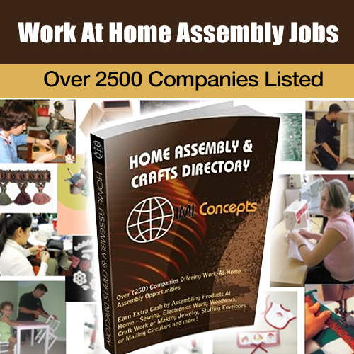 Work at Home Assembly Jobs