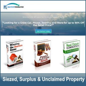 Government Siezed and Surplus Auctions