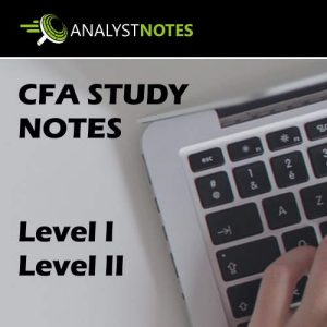 CFA Study Notes