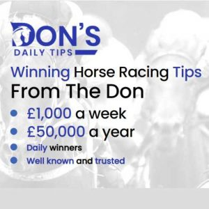 Don's Daily Horse Racing Tips