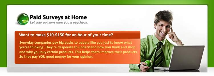 Take Surveys From Home