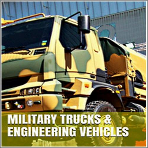 Military Trucks and Engineering Vehicles