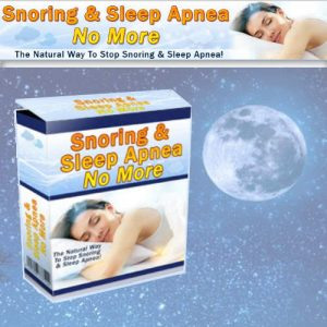 No More Snoring and Sleep Apnea