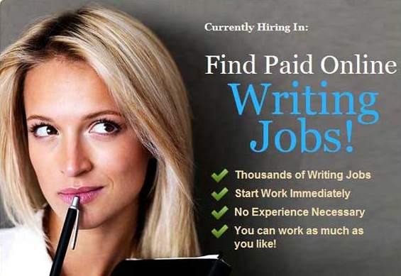 Paid Writing Jobs