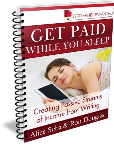 Earn Passive Income Writing