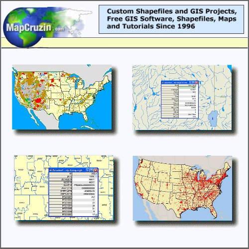 GIS Shapefiles