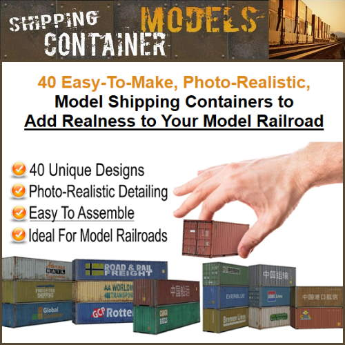Shipping Containers for Model Trains