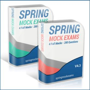 Spring Web Exam Simulator