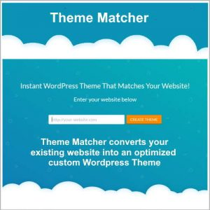 Wordpress Theme Maker
