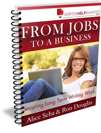 From Writing Jobs to a Business