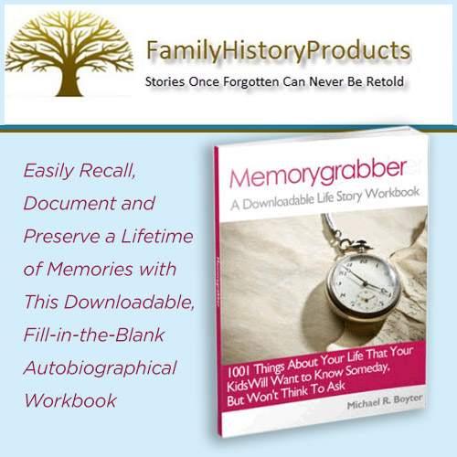 Family History Memory Grabber
