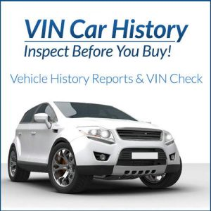 FaxVIN Car History