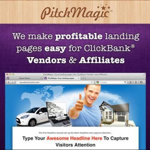 Pitch Magic Landing Pages