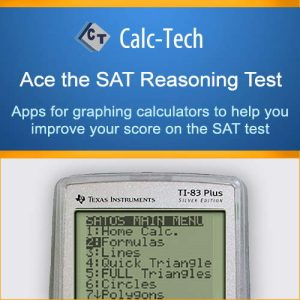 Calc-Tech Ace the SAT