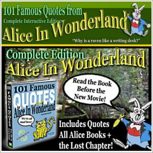 Alice in Wonderland Quotes