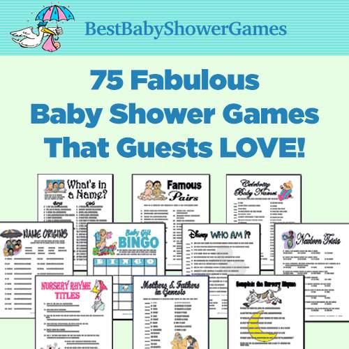 Best Baby Shower Games