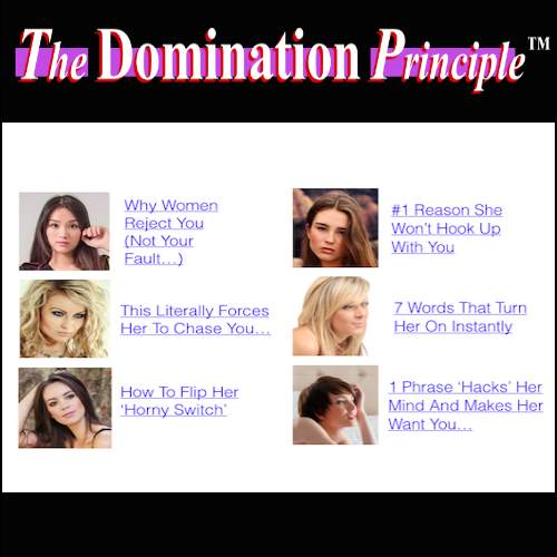 The Domination Principle