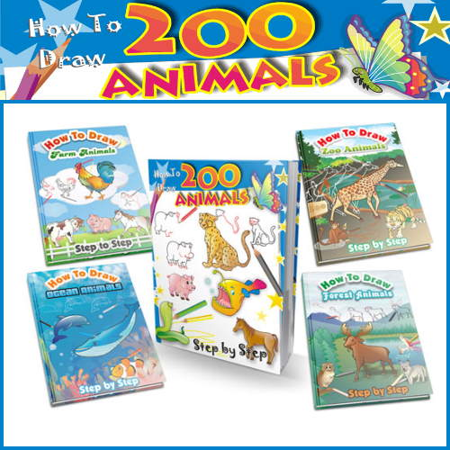 Draw 200 Animals