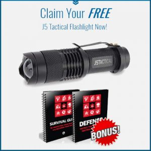 Free J5 Tactical Flashlight