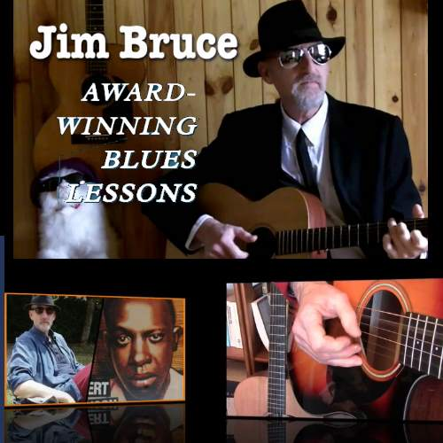 Jim Bruce Blues Guitar Lessons