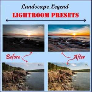 Landscape Legend Lightroom Presets
