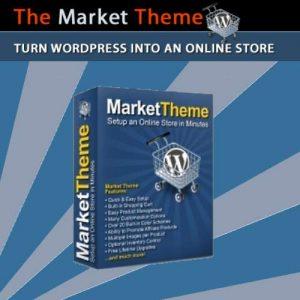 Market Theme - Turn WordPress Into An Online Store