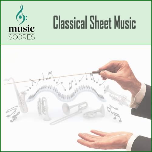 Music Score Classical Sheet Music