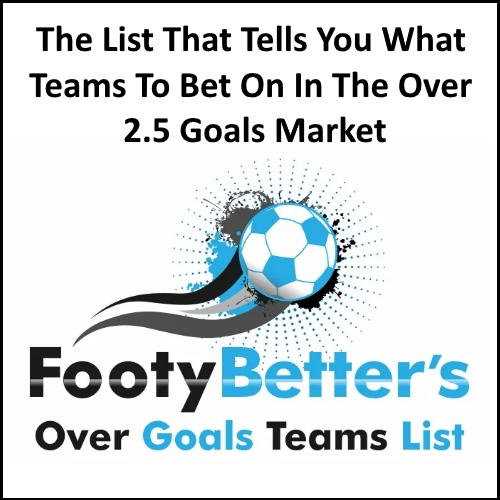 Over Goals Teams List