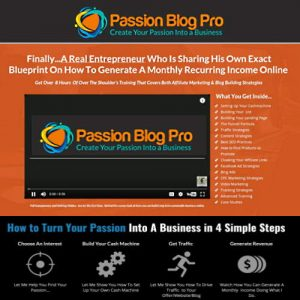 Passion Blog Pro