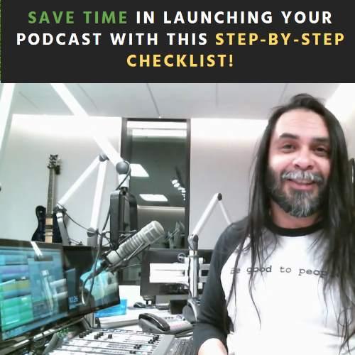 Podcast To-Do Checklist