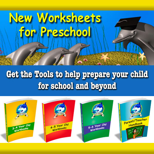 Dave Dolphin Worksheets for Preschool