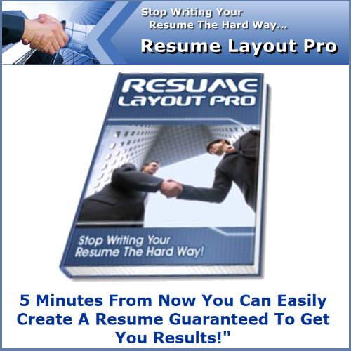 Resume Layout Pro