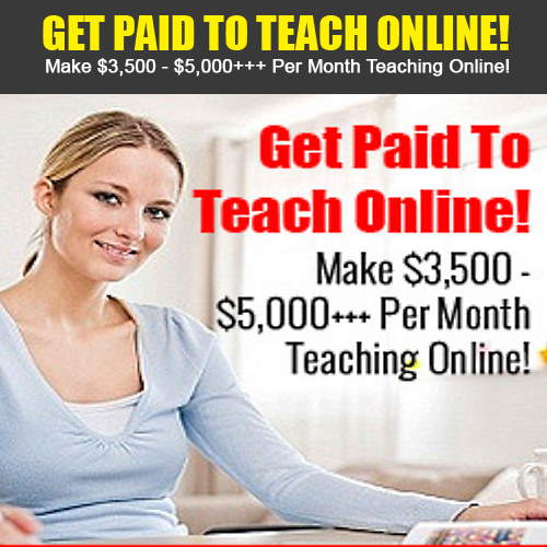 Online Tutoring Jobs